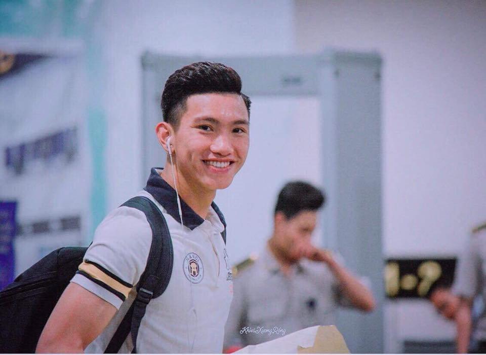 Em út Đội tuyển U23 Việt Nam cao 1,85m điển trai