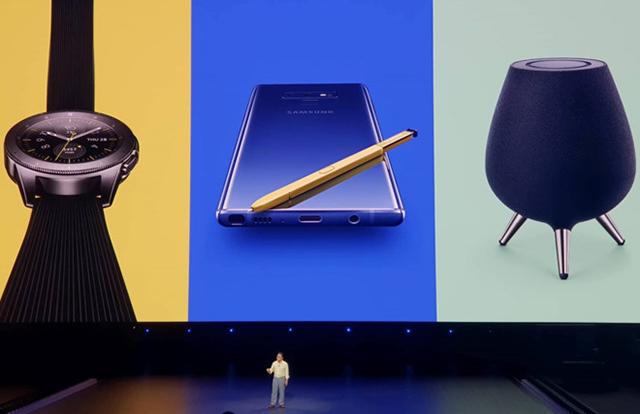 Mẫu Galaxy Note9 mới trình diễn những tính năng độc đáo hoàn toàn mới