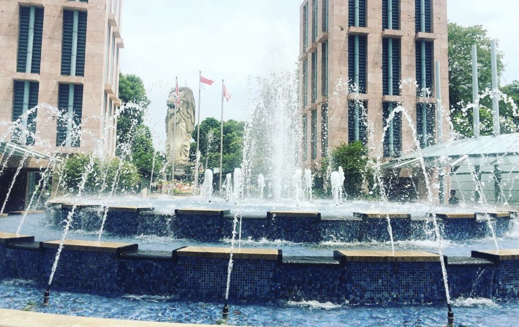 Nếu bạn tới Singapore nhất định phải ghé Merlion Park