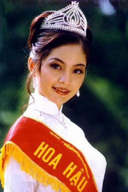 Nhan sắc Hoa hậu Thiên Nga sau 22 năm