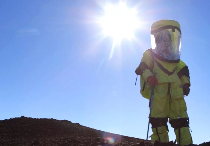 Tập luyện trên sống sao Hỏa người ta làm thế nào?