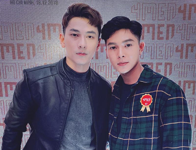 Hồ Thanh Phong Taekwondo cùng ca sĩ Isaac 365 rạng ngời tại 4MEN