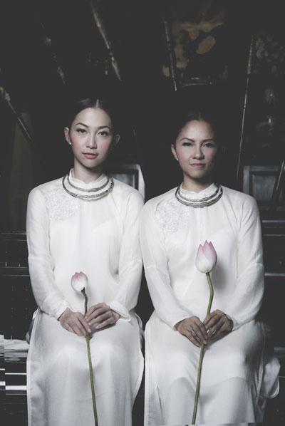 Phong cách của mẹ ruột Linh Nga