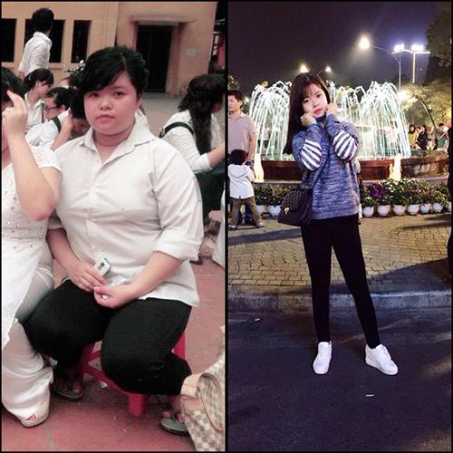 Qúa trình giảm 40kg vất vả khắc nghiệt của nàng béo 9x