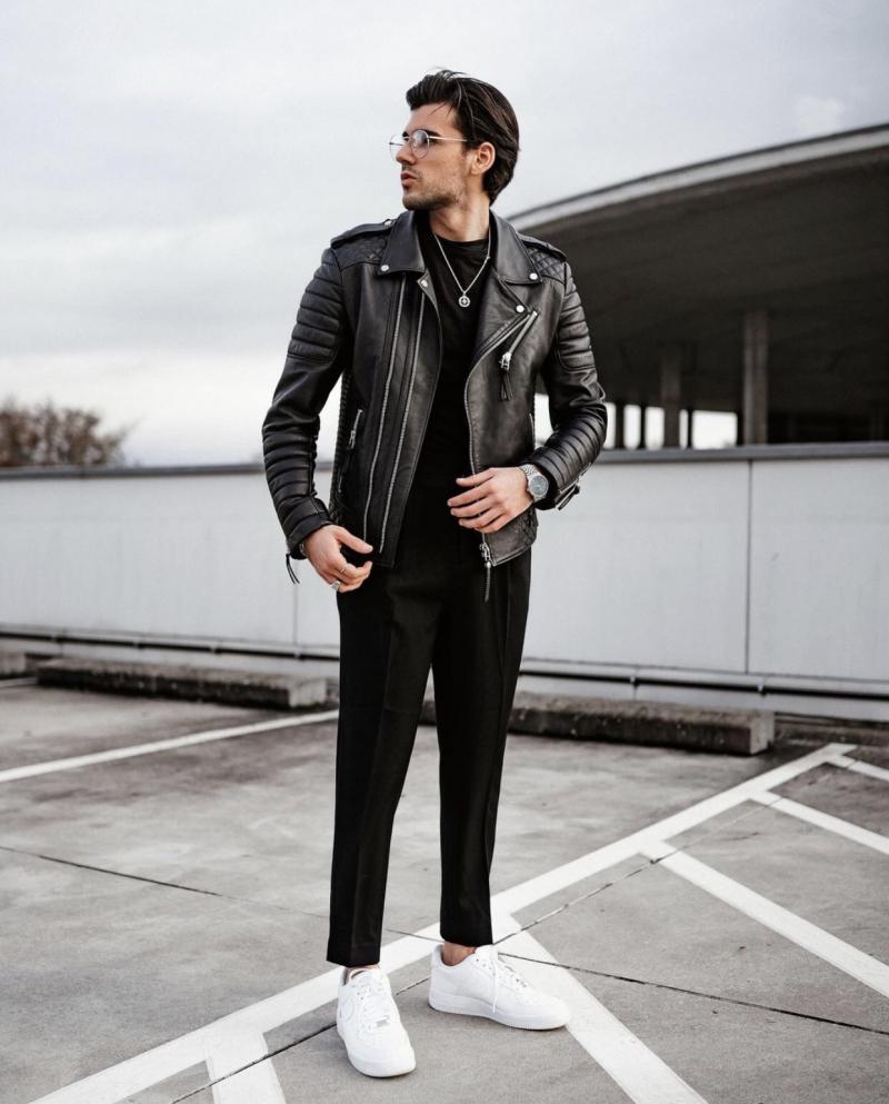 8 cách mix&match; trang phục chất cực chất cho chàng thêm ngầu và nam tính