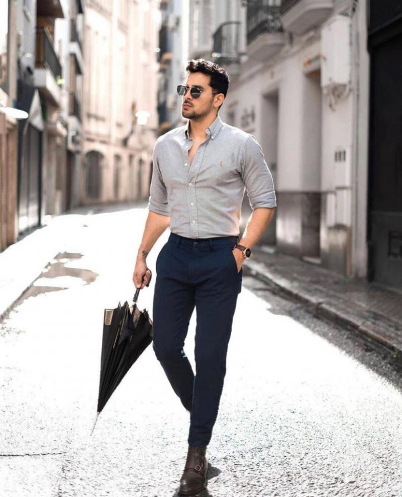 """Không cần vest vẫn """"thanh lịch sành điệu"""" với 9 cách phối đồ đơn giản nam tính"""
