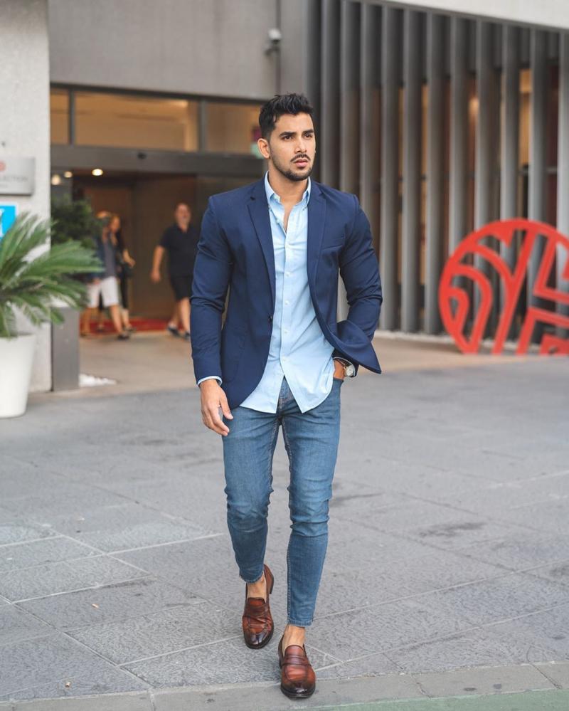 4 Cách phối đồ công sở cùng áo blazer giúp chàng thêm bảnh bao thanh lịch