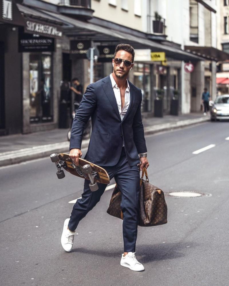 5 cách phối áo sơ mi trắng nam giúp chàng luôn nổi bật
