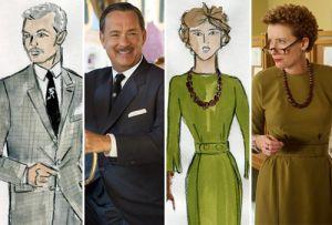 Mẫu thời trang vintage đẹp cổ điển trong phim