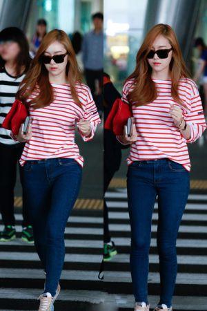 cách mặc thời thượng của Jessica SNSD cực đẹp