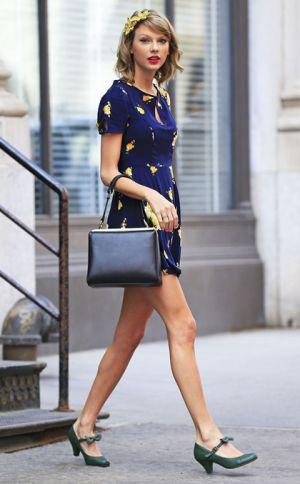 Sao Taylor Swift diện đồ xuân hè cuốn hút Fan