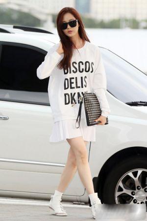 Seohyun SNSD với gu mặc đơn giản nhưng lịch lãm