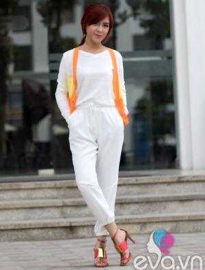 Áo cardigan tươi trẻ cho nữ công sở tự tin