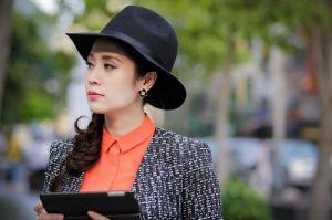 Người đẹp Thanh Thúy rạng ngời xuống phố cuối tuần Hot Hot