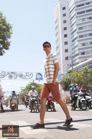 Phong cách Khatoco hiện đại, năng động ngày hè cho chàng