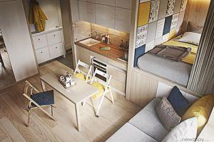 4 căn hộ dưới 40 mét vuông nhưng vẫn đầy đủ tiện nghi