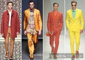 Họa tiết thời trang nam giới xuân hè thoải mái