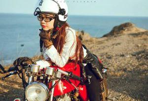 Phong cách Nữ biker 9X xinh đẹp và cá tính