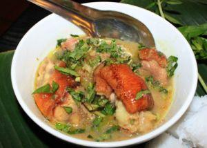 Bún giả cầy và bánh canh ghẹ món ngon cho bữa trưa Hà Thành