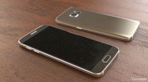 Hình ảnh Galaxy S7 của nhà thiết kế Jermaine Smit