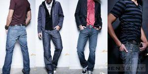 Mẹo chọn quần jeans thật chuẩn cho nam giới tự tin