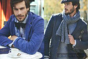 Phong cách quý ông mùa đông nam tính của Scapa