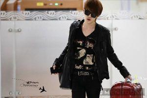 Phong cách thời trang sân bay đa phong cách của Jae Joong (JYJ)