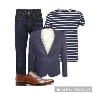 Trẻ trung và phong cách lịch lãm với blazer cho các chàng trai công sở
