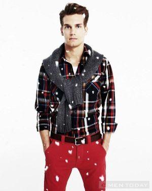 vẻ ngoài hoàn hảo trong đêm Giáng sinh cho chàng tự tin
