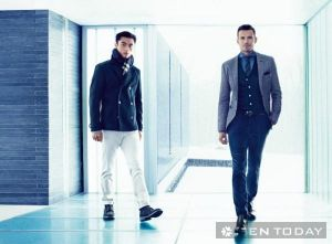 BST thời trang nam từ Hugo Boss mạnh mẽ