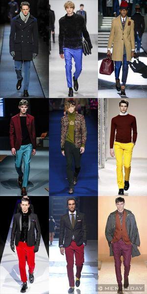BST xu hướng thời trang nam thu đông