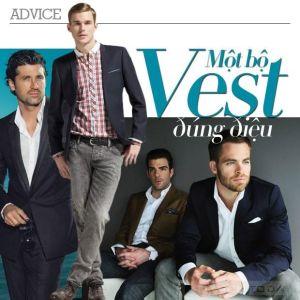 Nam giới nên chọn bộ vest thế nào cho hoàn hảo