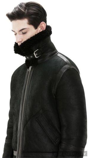 Những BST thời trang nam mùa đông ấm áp từ Acne lịch lãm