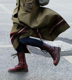 Phong cách mix đồ nam mùa đông cực chất cùng Military