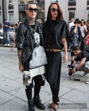 Quái kiệt thời trang trên đường phố Milan