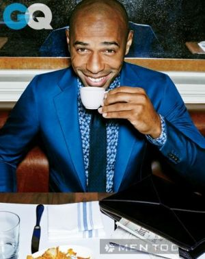 Thierry Henry và phong cách quý ông lịch lãm