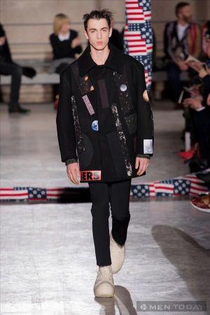 Thời trang nam thu đông của Raf Simons | PFW mang phong cách trẻ trung