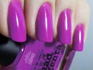 11 kiểu nail màu tím cho nàng hấp dẫn lãng mạn