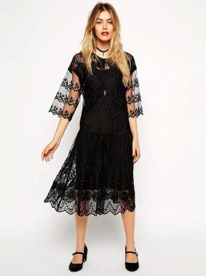 12 kiểu váy ren cho quý cô sang trọng hiện đại