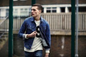 20 Áo khoác nam đẹp phong cách denim on denim cho chàng đầy cá tính