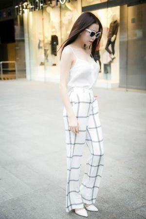 5 kiểu quần vải ống suông hợp guu quý cô công sở