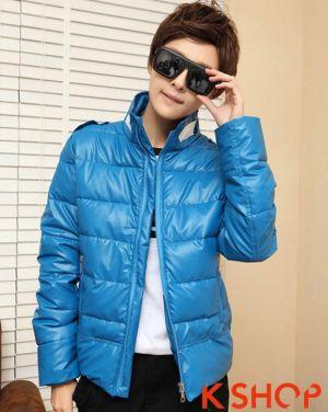 BST Áo khoác phao nam đẹp kiểu Hàn Quốc ấm áp trong giá lạnh