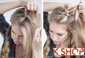 Cách tết tóc lệch vai Hàn Quốc cho bạn gái đầy cá tính