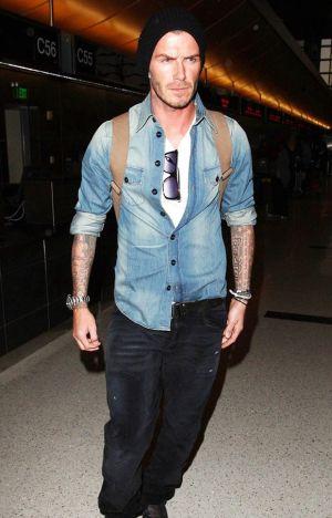 Denim lịch lãm như David Beckham