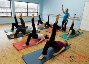 Đốt mỡ hiệu quả cùng lớp Pilates