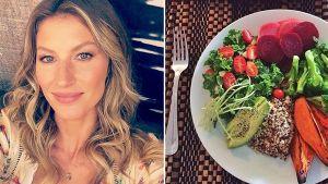 Học hỏi chế độ ăn kiêng hợp lý của vợ chồng thiên thần Gisele Bundchen