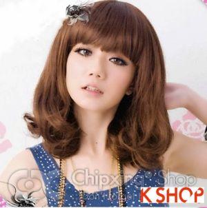 Kiểu tóc ngắn ngang vai Hàn Quốc cho cô nàng dễ thương