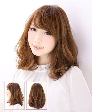 Mẫu tóc ngắn xoăn nhẹ đẹp phong cách Hàn Quốc độc đáo