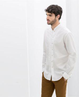 Mix Áo sơ mi nam trắng đẹp cho các chàng trẻ trung hè 2016