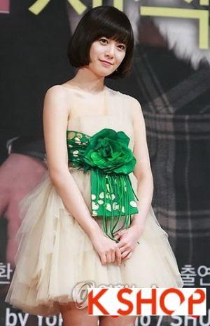 Những kiểu tóc ngắn đẹp xinh xắn dễ thương của sao Hàn Quốc